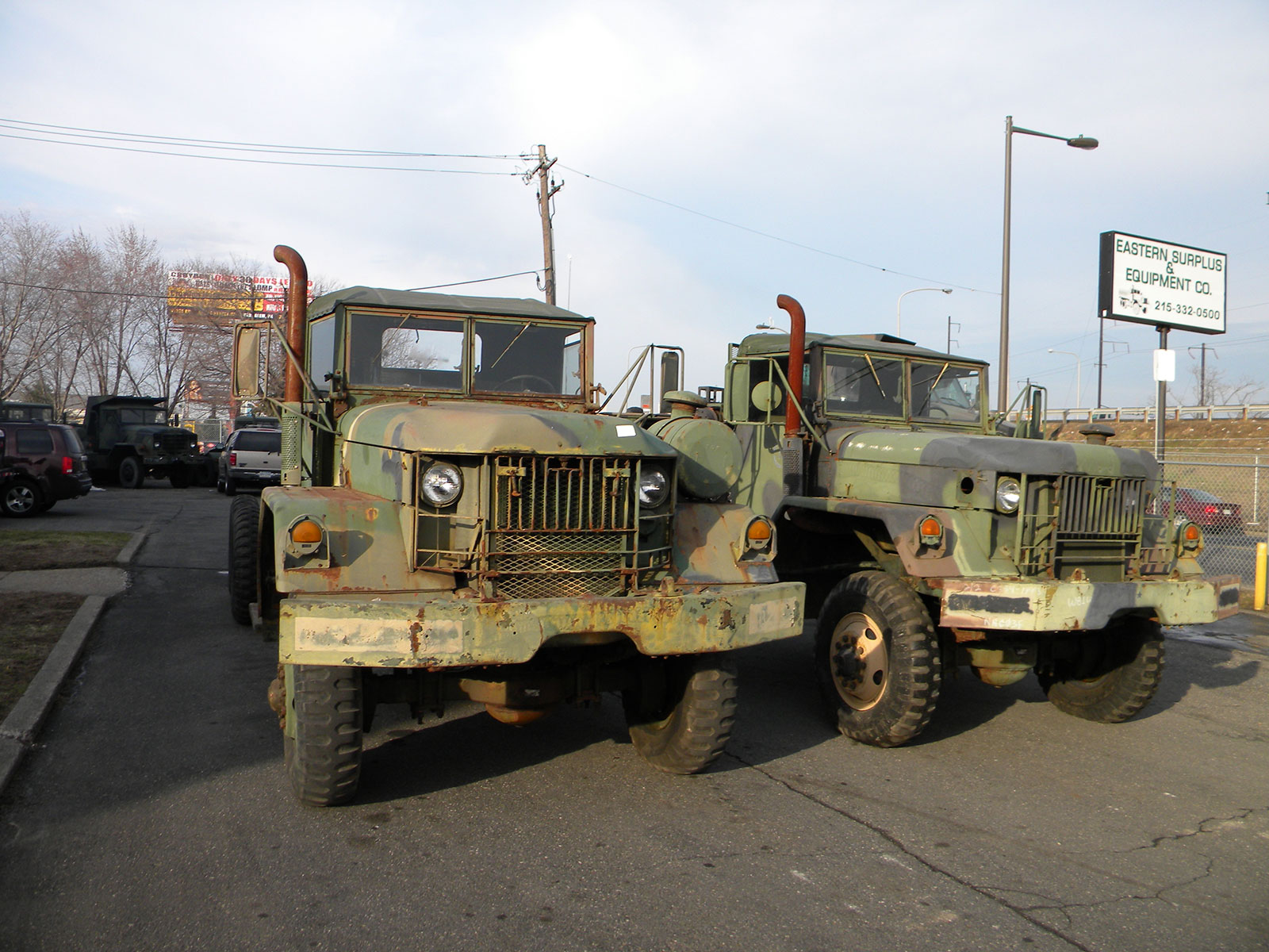 2 M809 trucks | Gallery | Eastern Surplus