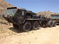 Oshkosh LVS MK48/ MK16 5th Wheel Tractor Truck
