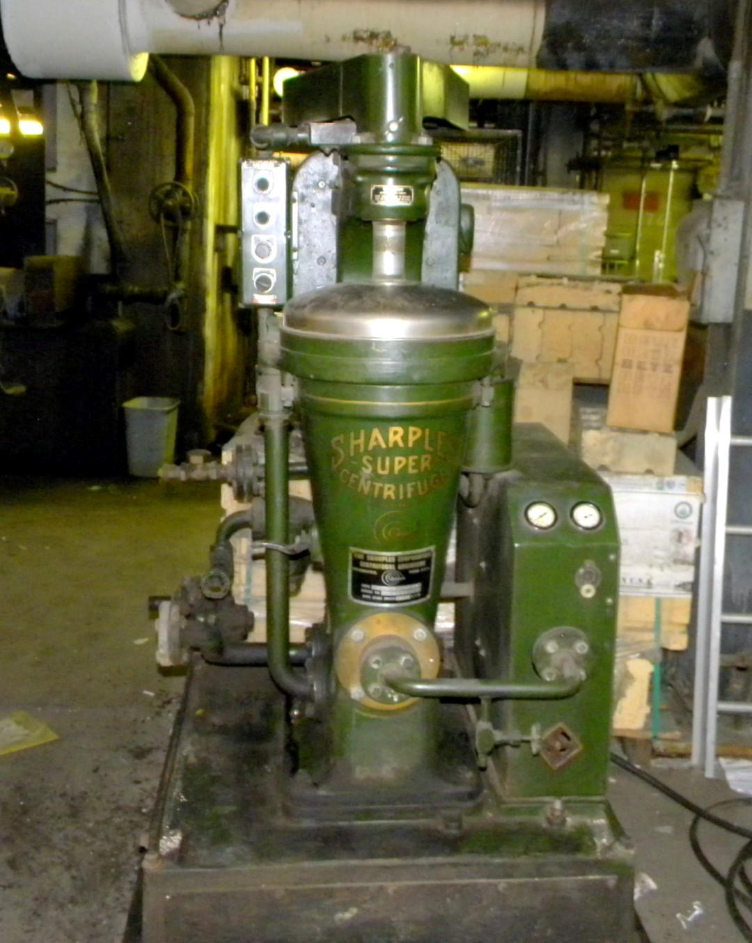 SP-1527 | Sharples Super Centrifuge Type M-308C-35 18F-43 Max Bowl Speed 15000 RPM. USED.  (2).JPG