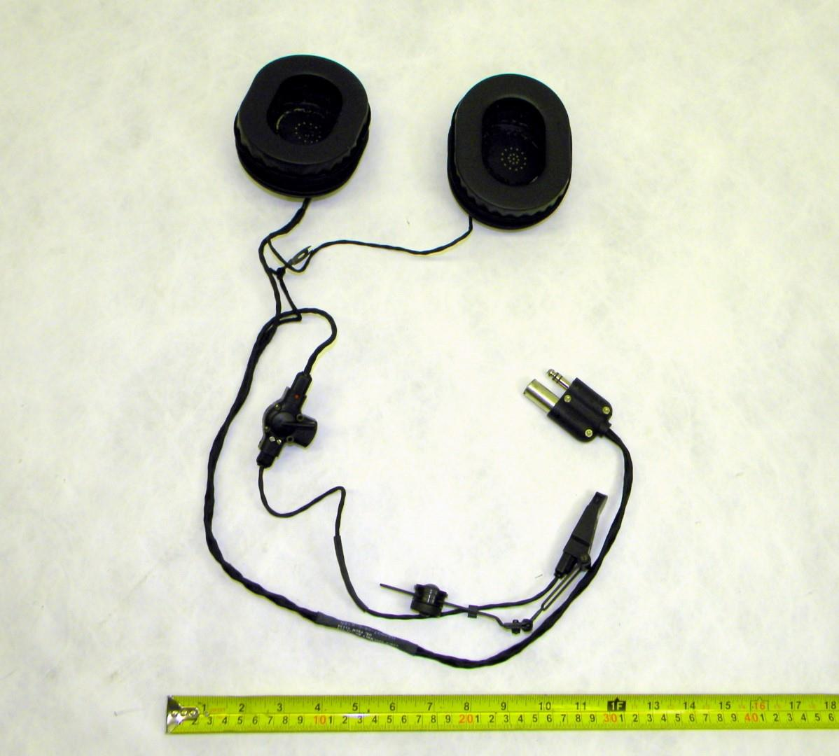 RAD-238 | 5965-01-230-2351 Headset Microphone for Military Communications Equipment. NOS (2).JPG