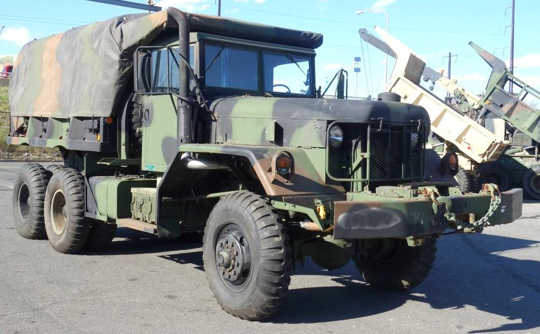 m817 dump truck with winch and bed cover gallery eastern surplus