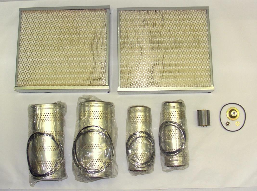 SP-1379 | Complete Filter Kit for Military Diesel Generator MEP-006A with Allis Chalmers Engine.JPG