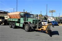 M35A2 2 1/2 Ton Cargo Truck with Plow and Spreader