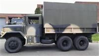 M35A2 with Insulated Aluminum Van Body- Emergency vehicle