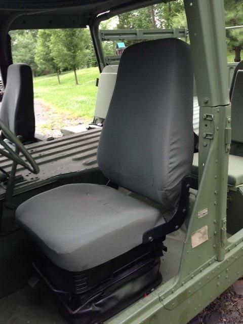 Cargo Trucks For Sale >> HMMWV Seat Uprgrade Kit