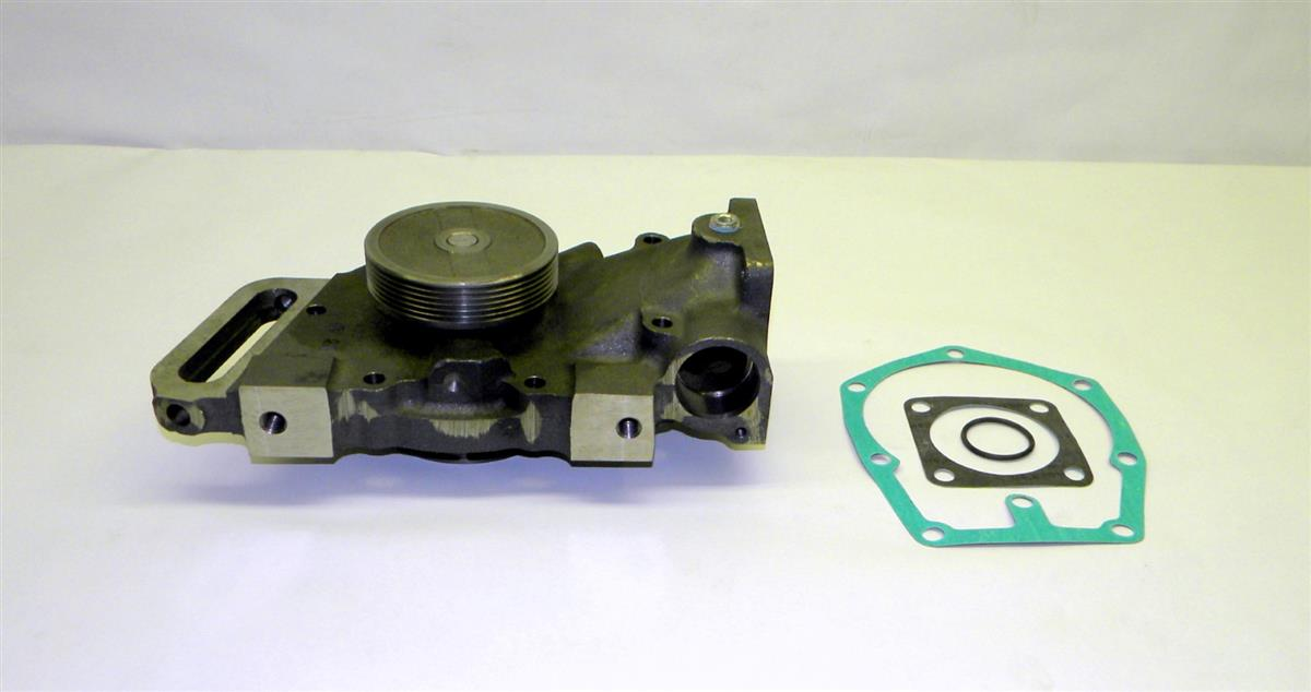 M9-6057 | 2930-01-146-3912 Water Pump, Pulley and Gasket for M915, M916, M820 Tractors. NOS.  (4).JPG
