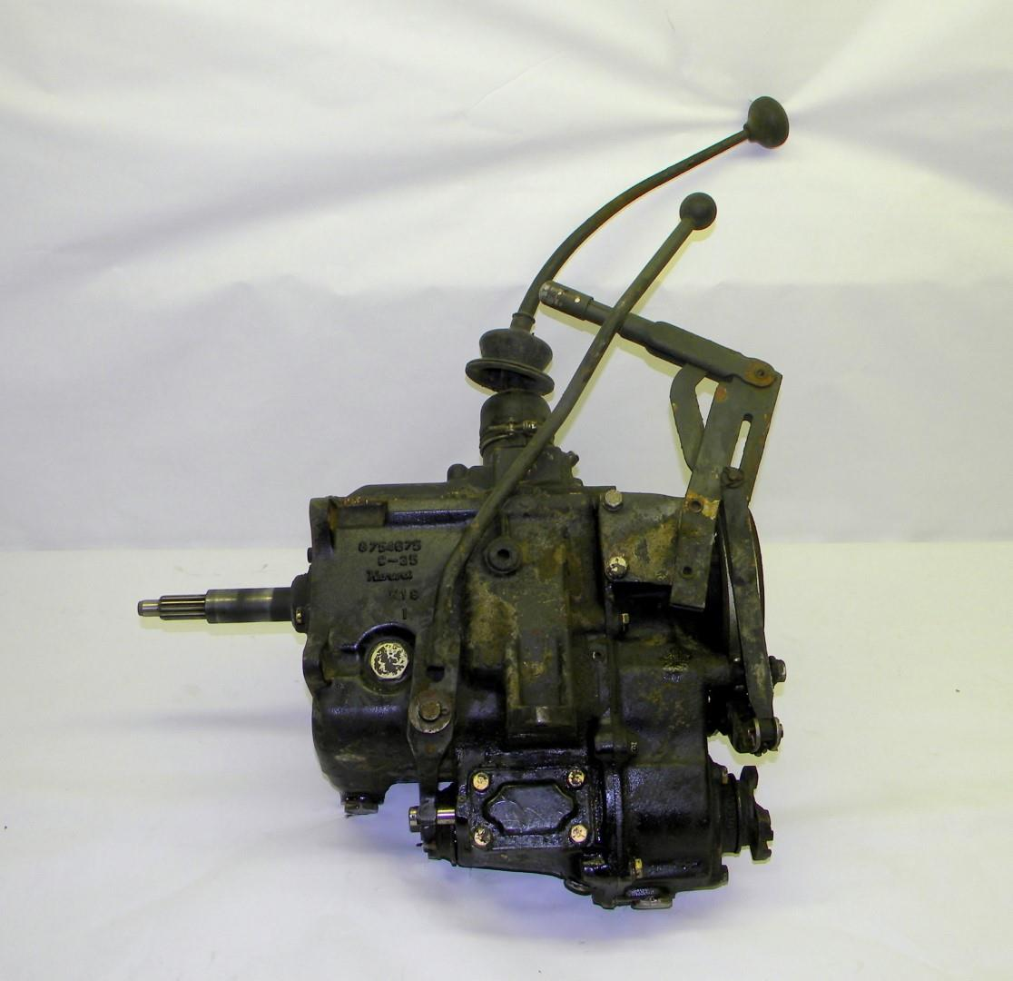 M151 Am General Mutt Jeep 4 Speed Manual Transmission Transfer Case