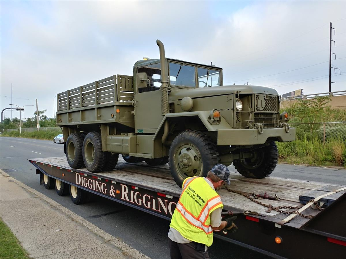 M35A2 6x6 at Eastern Surplus for Reconditioning | Gallery