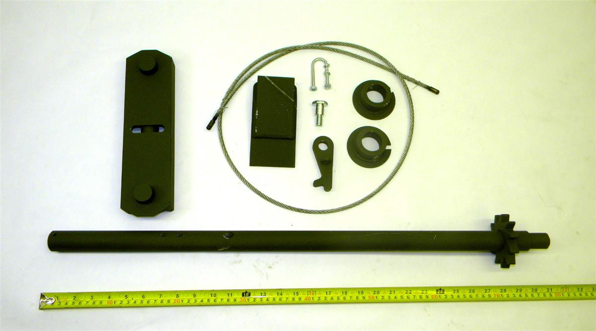 TR-206 | 2590-01-283-1797 Spare Wheel Stowage Assembly for M796 Bolster Trailer. NOS.  (8).JPG