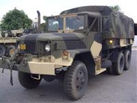 M35A2 with PTO driven front mounted winch