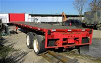 1982 Transcraft Flatbed Trailer
