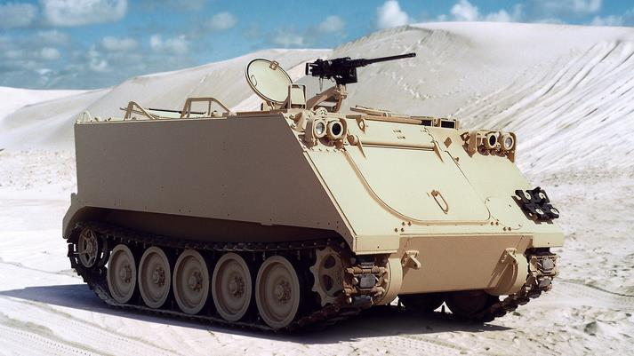 M113 Shipping Data Plate Armored personnel carrier APC Full Tracked