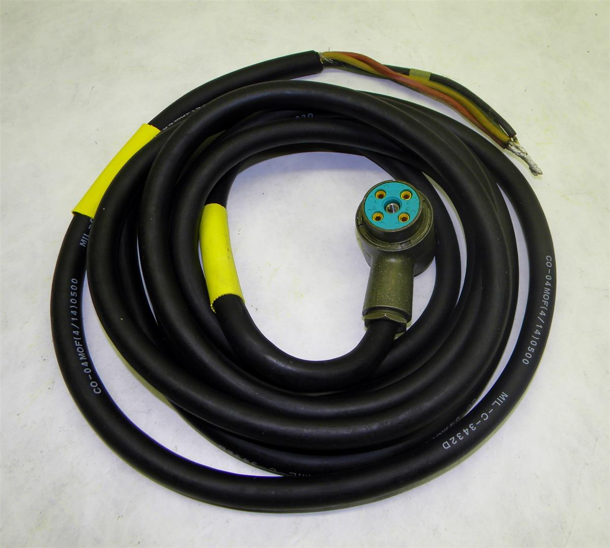Power Cable Assemblies : Electrical power cable assembly for aavc a
