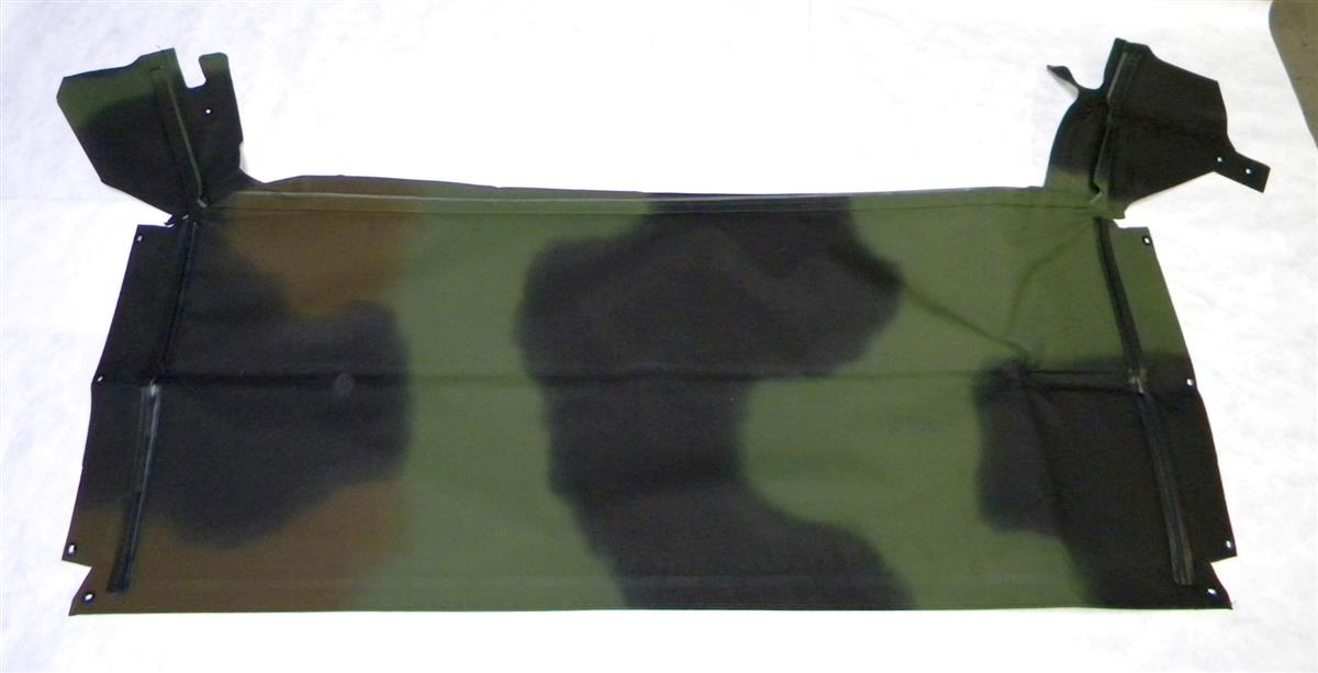 HM-623 | 2540-01-450-4017 Soft Roof Top Cover Assembly, Camo for HMMWV 2 Man. NOS.  (3).JPG