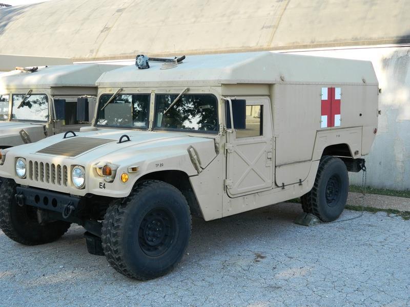 HMMWV Humvee M998 TAN Drivers Seat Back Cushion 12342061 2540-01-314-7835