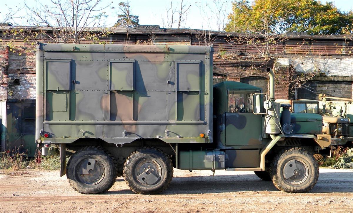 M109a4 2 12 Ton Van Shelter Box Command Center