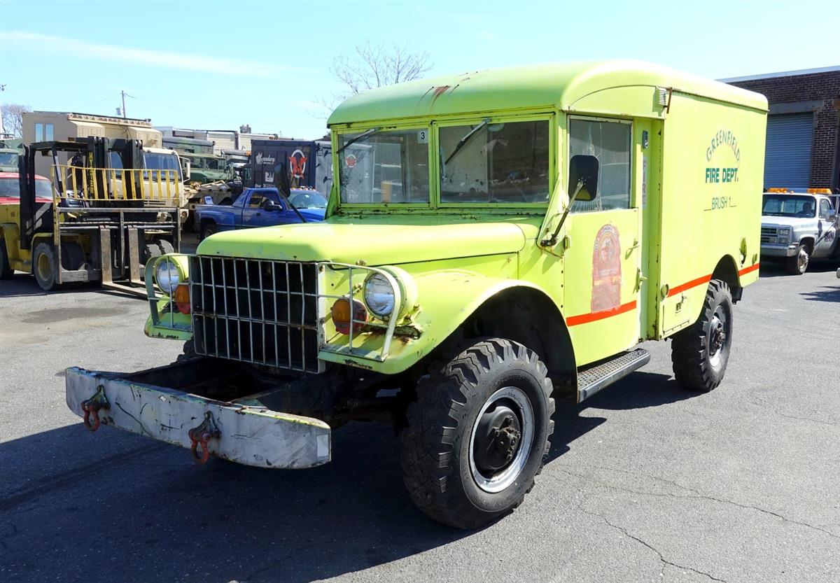 1962 Dodge M43 4x4 3/4 Ton Ambulance Truck
