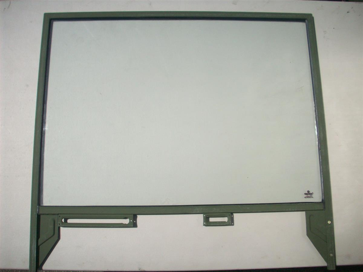 COM-3088L | 2510-00-674-4487 Left Driver Side Door Window for M35 M54 M809 M939 Series Trucks NOS.jpg