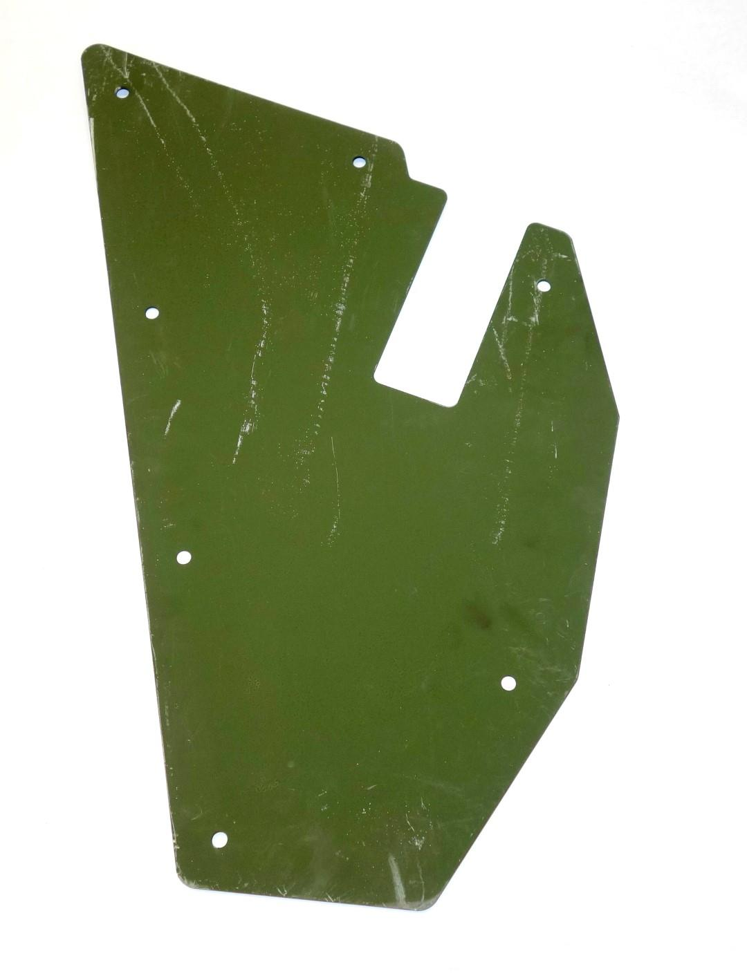 HM-790 | 2540-01-185-3119 Left Hand Body Armor Cowl Plate for HMMWV NOS (7).JPG