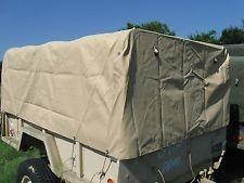 TR-211 | 2540-01-325-7719 Trailer Top Cargo Cover for M101A2 and M101A3 .75 Ton Cargo Trailer (9).jpg