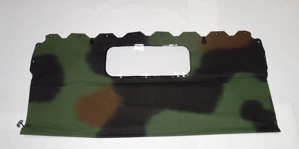 HM-686-OP | 2540-01-450-4018 Camo 2 Door Rear Curtain Assembly for HMMWV NOS (1).jpg