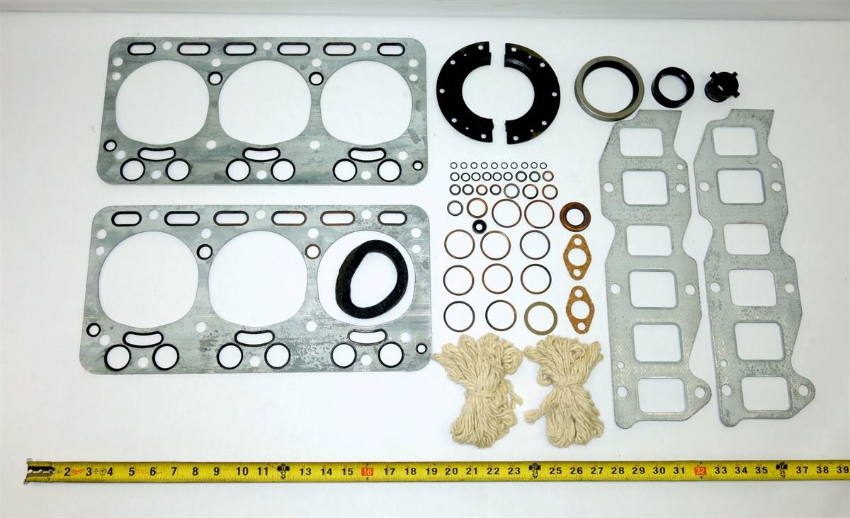 5T-846 | 2805-00-737-6211 Engine Overhaul Gasket and Seal Set for R6602 Continental Gas Engine NOS (9).JPG