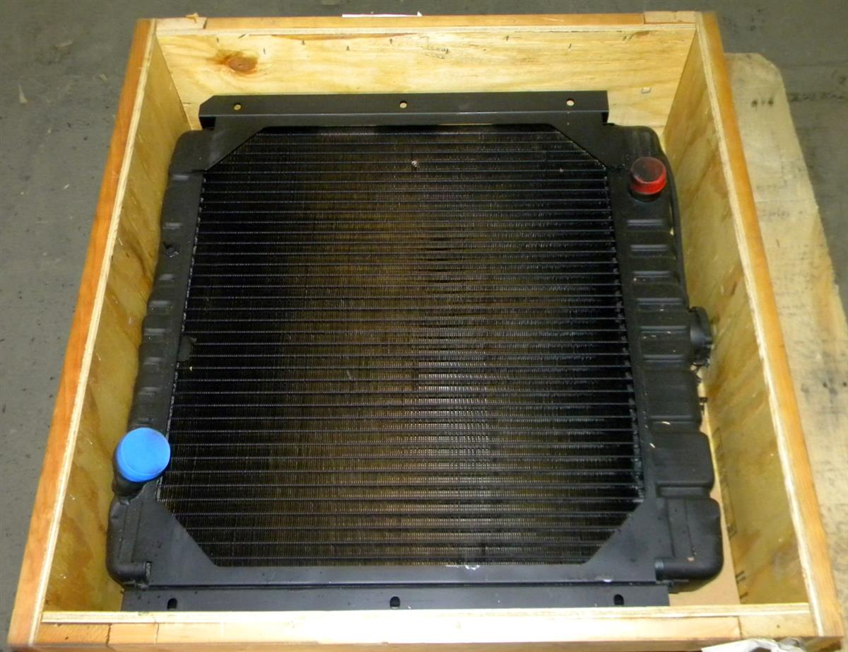 Engine Coolent Radiator For Consolidated Diesel Mobile Power Plant Brown Coolant Sp 1696