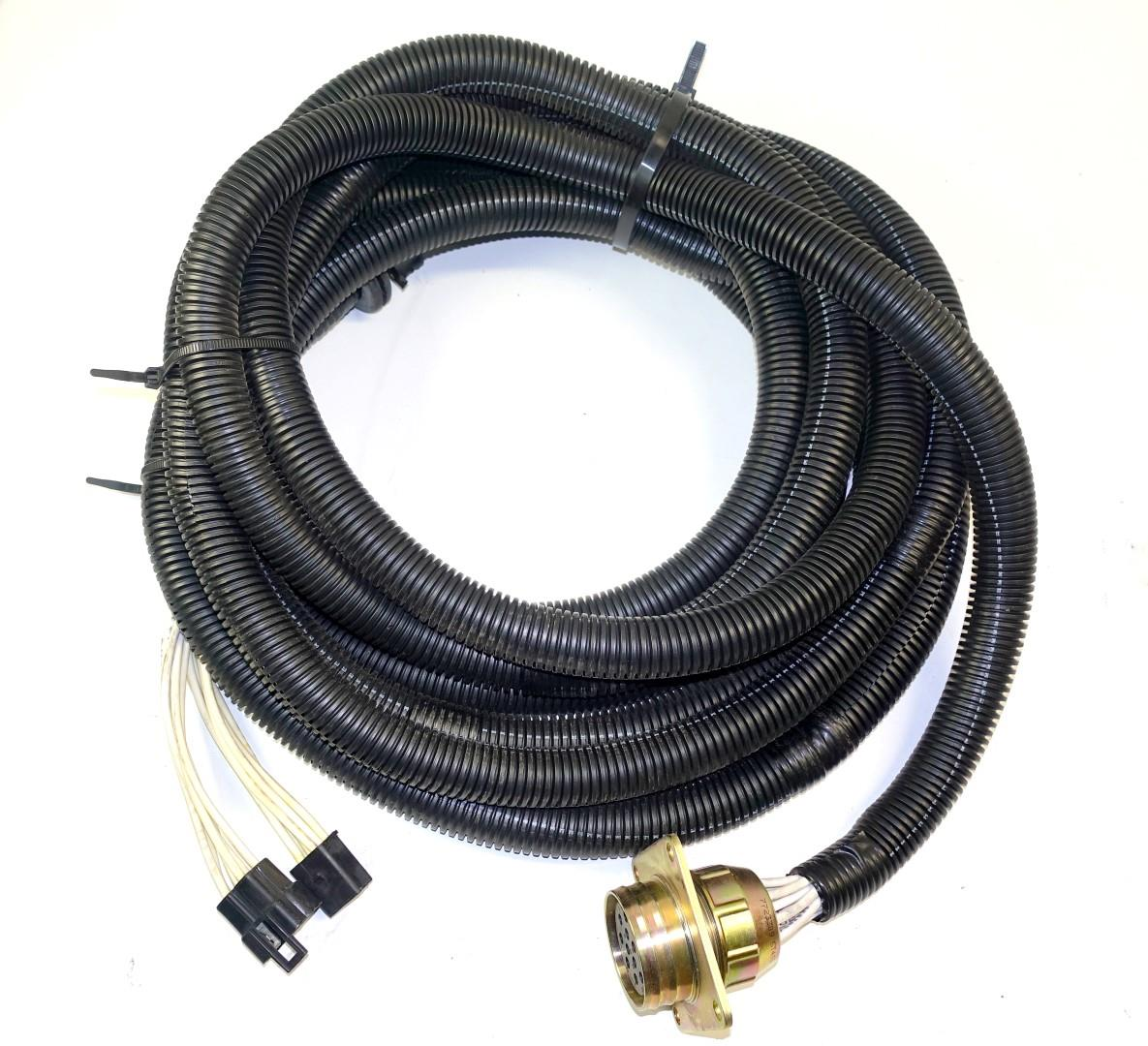 Parts Of Electrical Cables : Trailer electrical receptacle cable