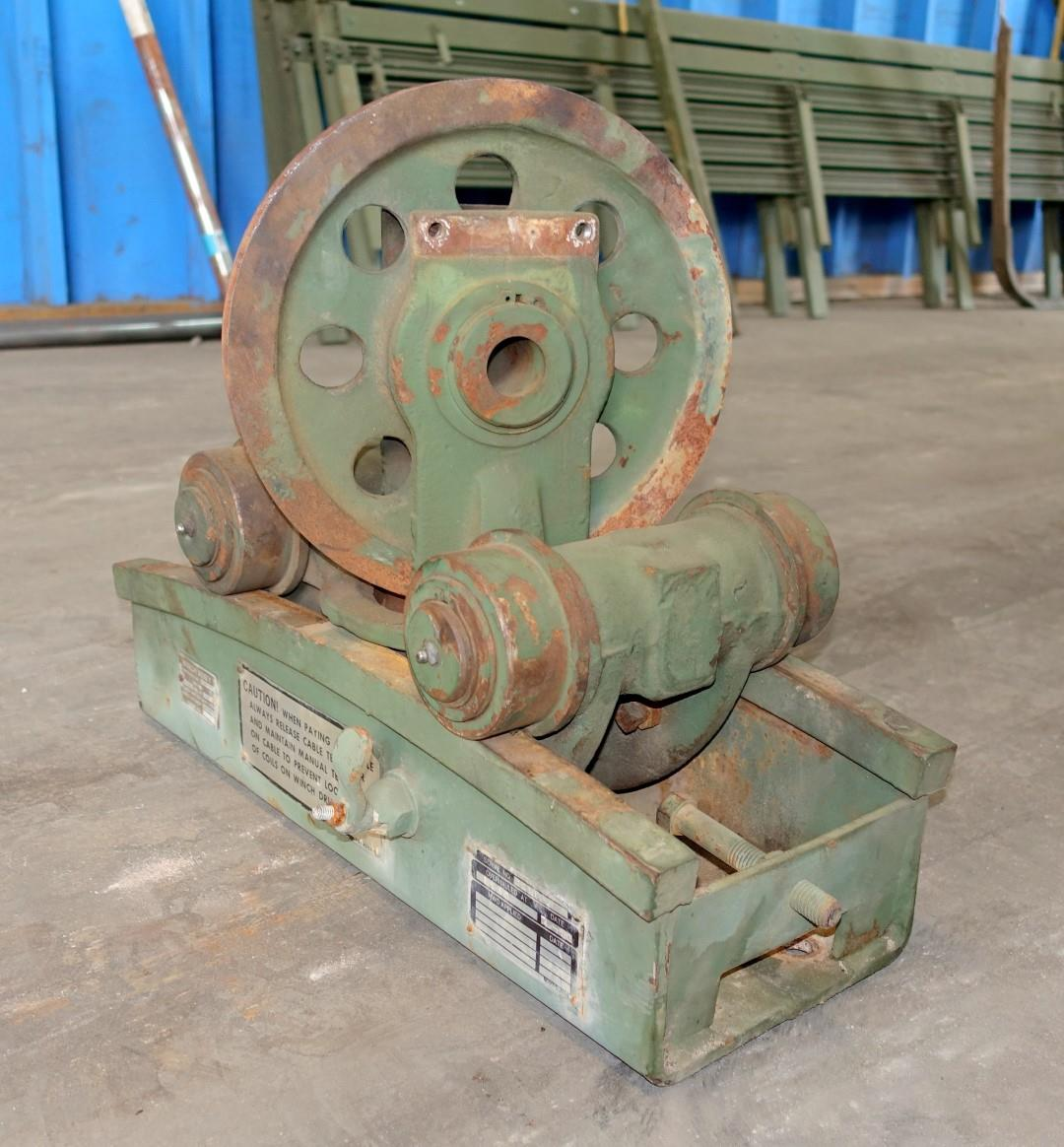 45000 Lb Garwood Rear Drag Winch Level Wind With Track For M816