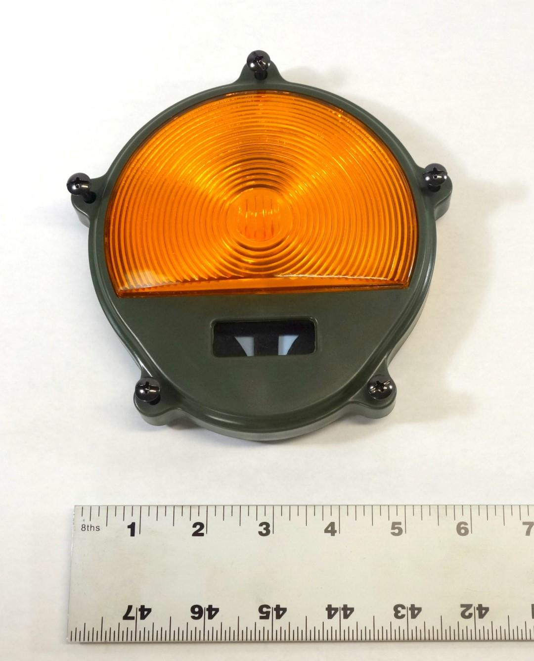 Front Amber Plastic Turn Signal Lens For Common Application