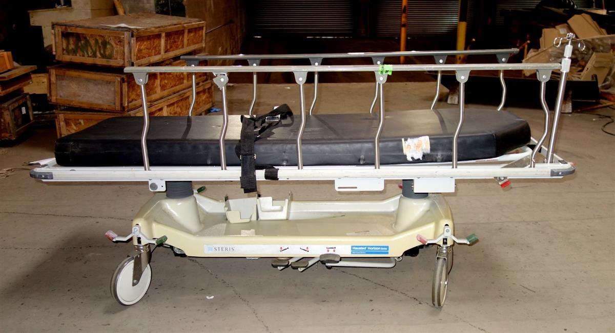 SP-1938 | 6530-01-448-8774 Steris Hausted Horizon Series 462-FMC-ST Adjustable Transport Stretcher USED (7).JPG