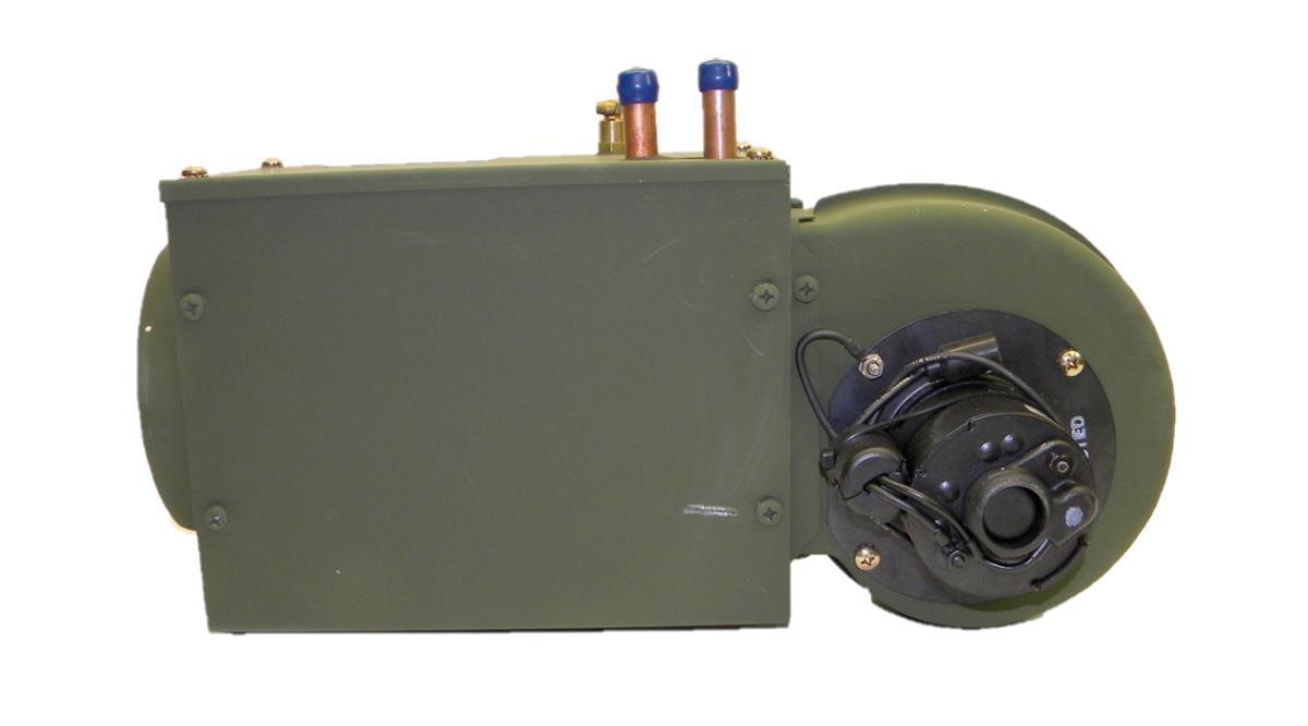 Blower Motor Fan with Heater Core and Fan Motor on