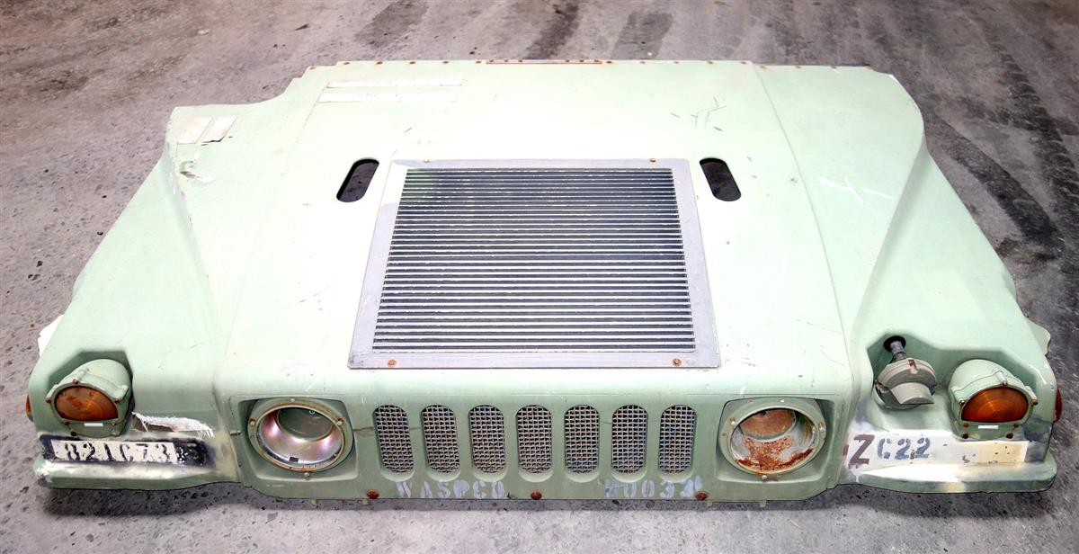 HM-103A1 | HM-103A1  HMMWV Hood with Standard Mesh Grille for HMMWV USED (2).JPG