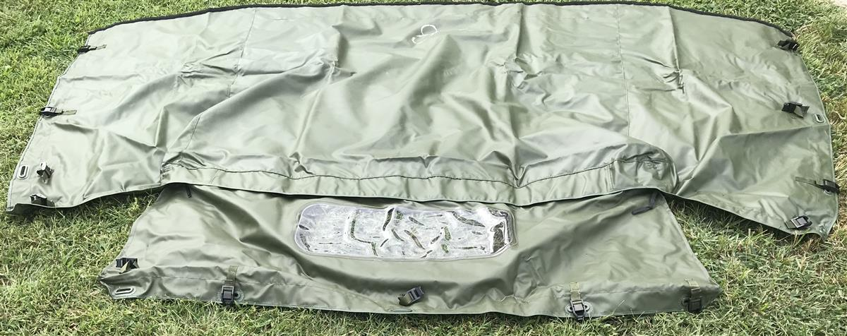 HM-2029 | HM-2029 2-Man Cargo Cover Top Assembly Green (3).jpg
