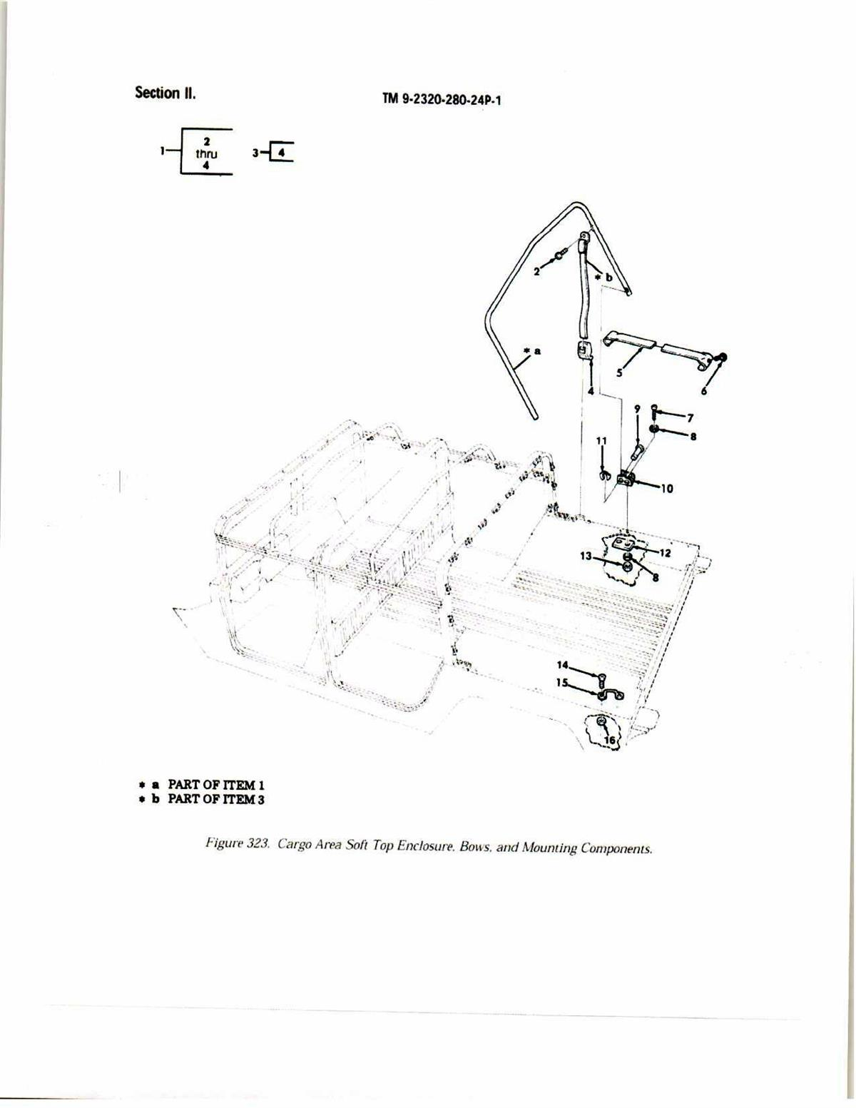 HM-570 | HM-570 HMMWV Cargo Cover Extension Support Assembly.jpg