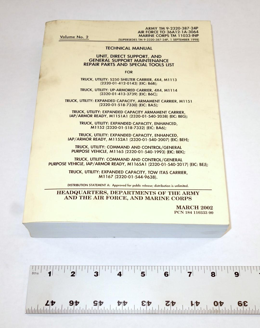 M1151a1 Hmmwv Technical Manual