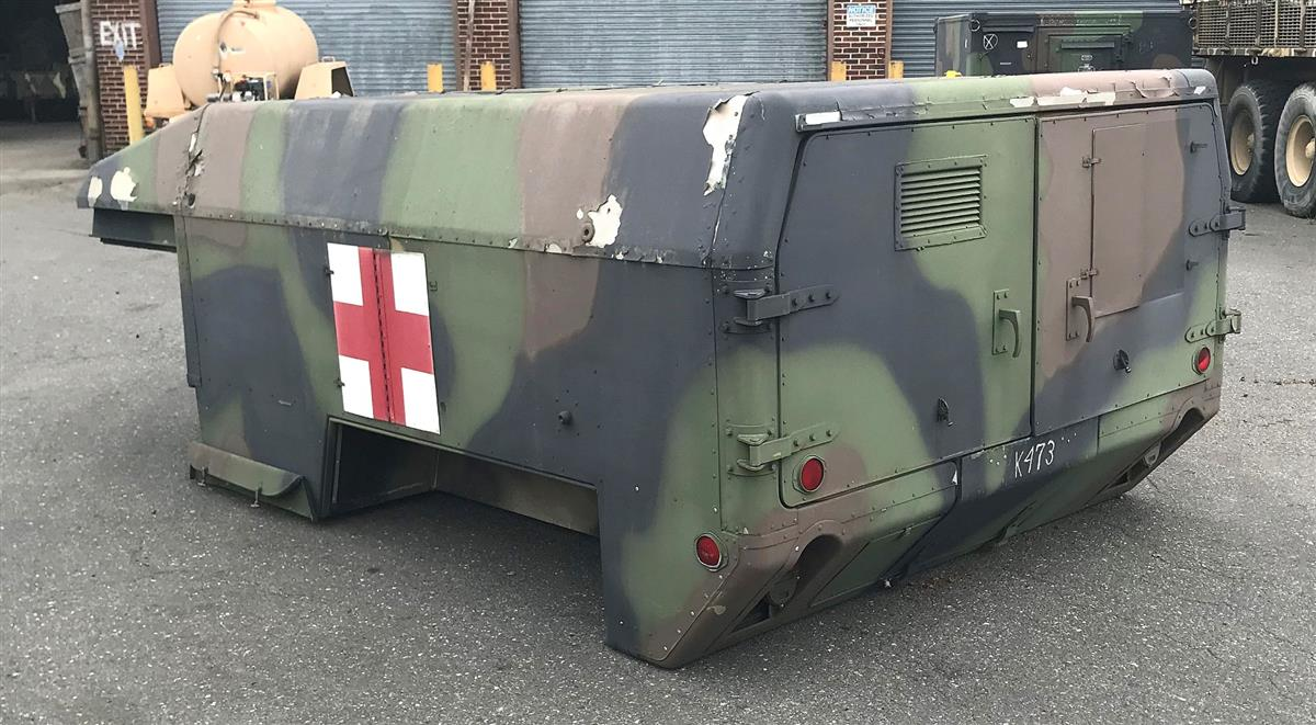 HM-989 | HM-989 HMMWV 2-Man Ambulance Body (6) (Large).JPG