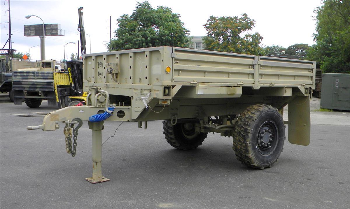 M1082 2 1 2 Ton Lmtv Fmtv Drop Side Trailer