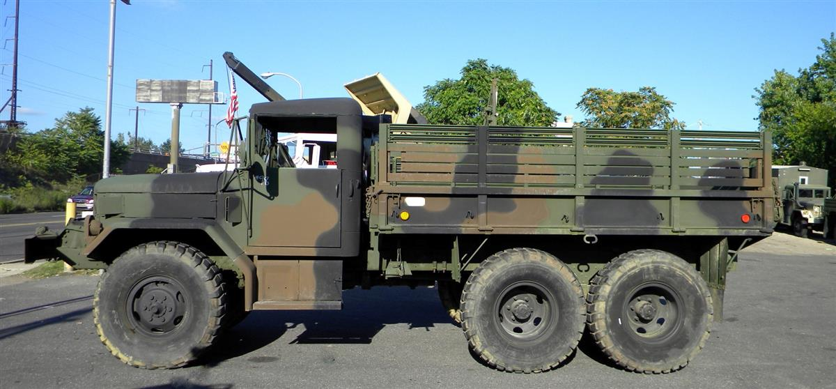 Cummins-Powered M35 2 1/2 Ton Cargo Truck with Winch