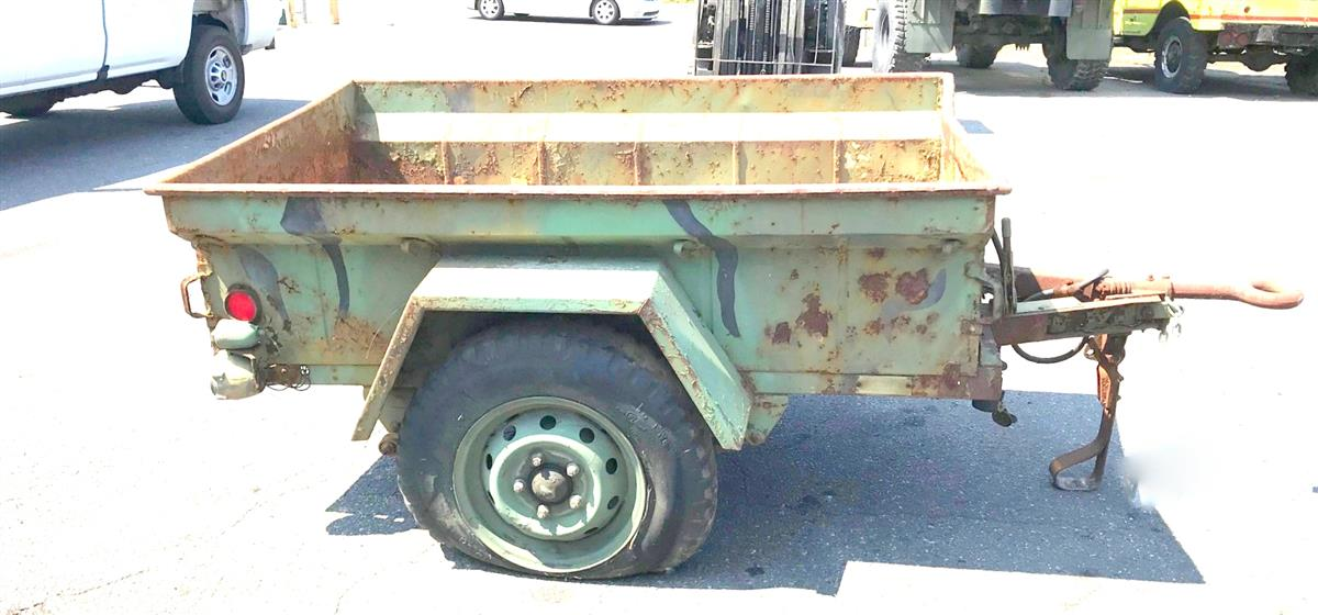 M416 1/4 Ton Cargo Trailer for Jeep