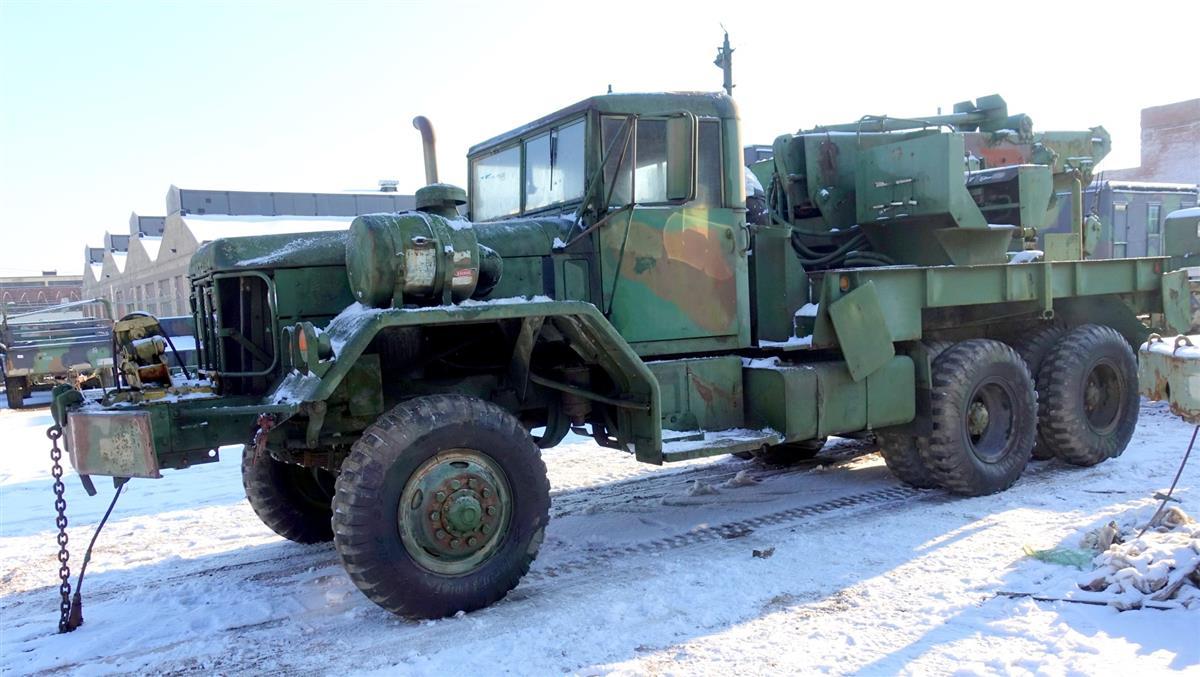 XM816 5 Ton 6x6 Hydraulic Wrecker