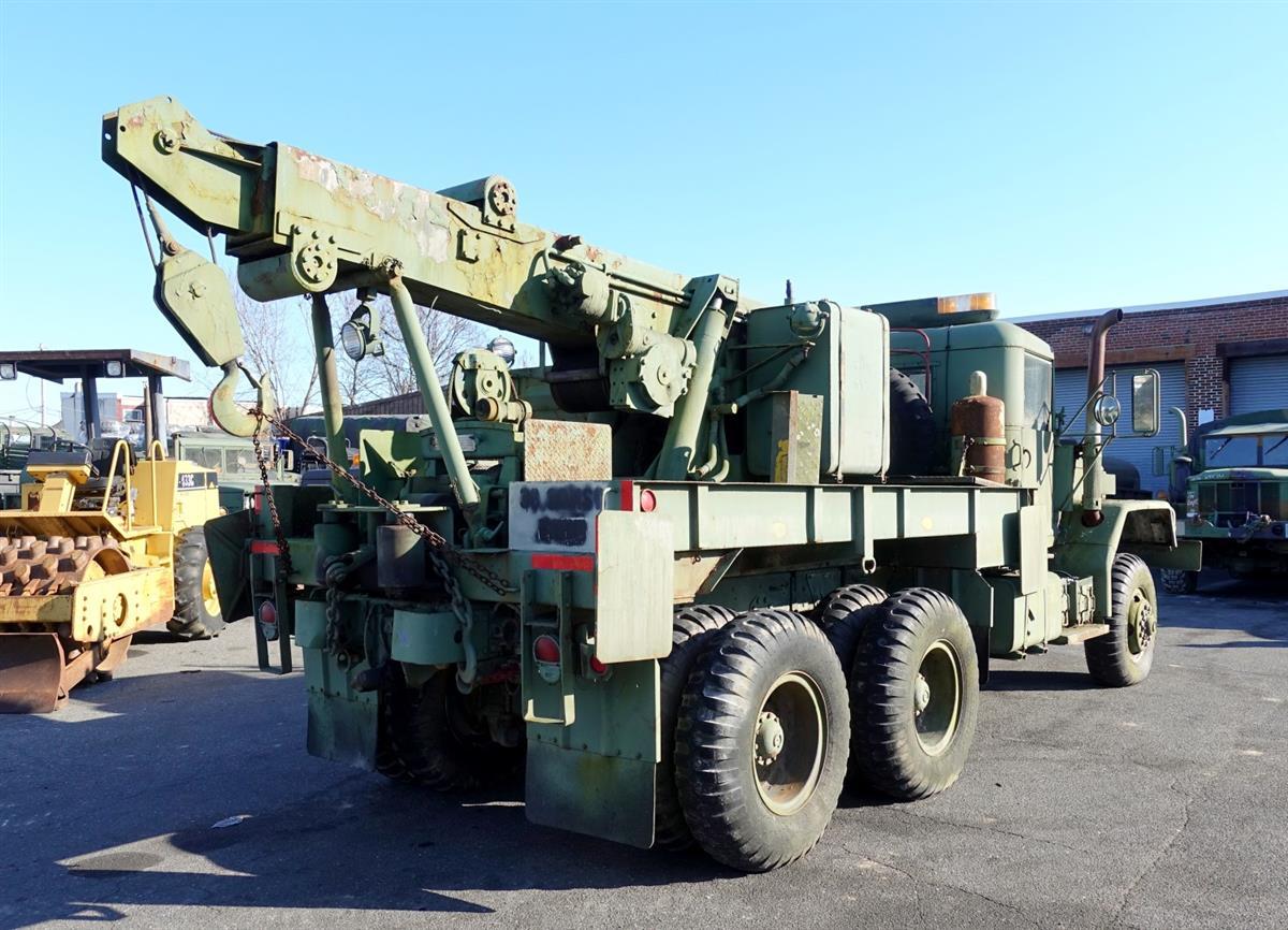 M816 5 Ton 6x6 Hydraulic Wrecker