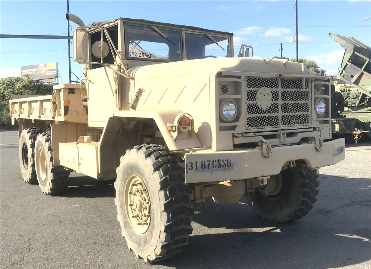T-10052018-18 | M923A2 BMY 5 Ton 6x6 Cargo Truck Without Winch (Tan) Group 1 (2).JPG