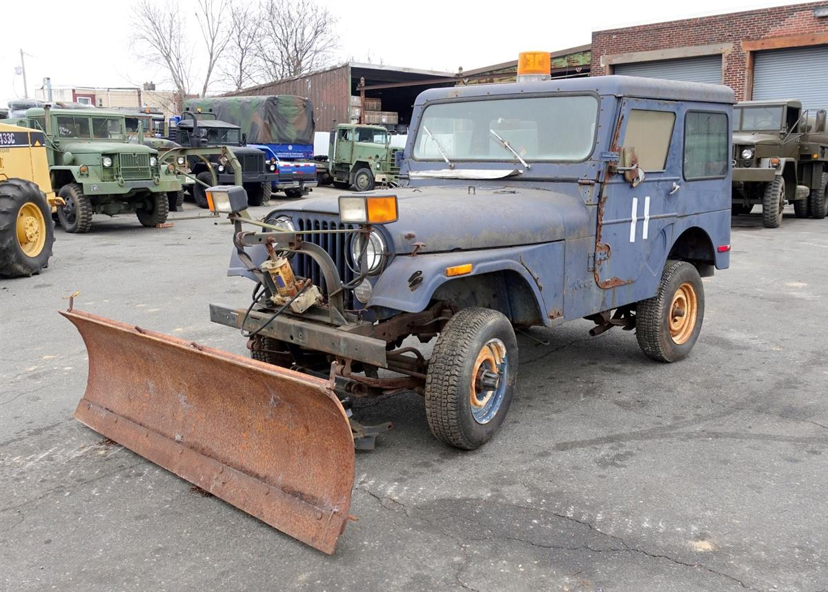 AMC Jeep CJ-5 with Snow Plow, Factory Hard Top and Doors ...