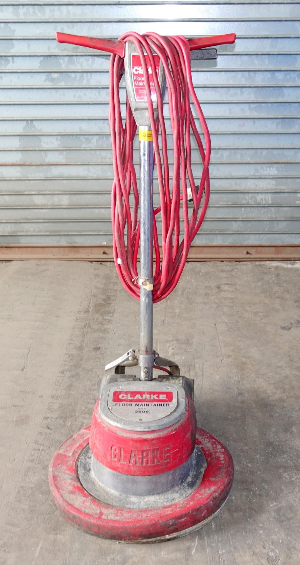 Clarke Fm2000 Heavy Duty Electric Floor Buffer Polisher