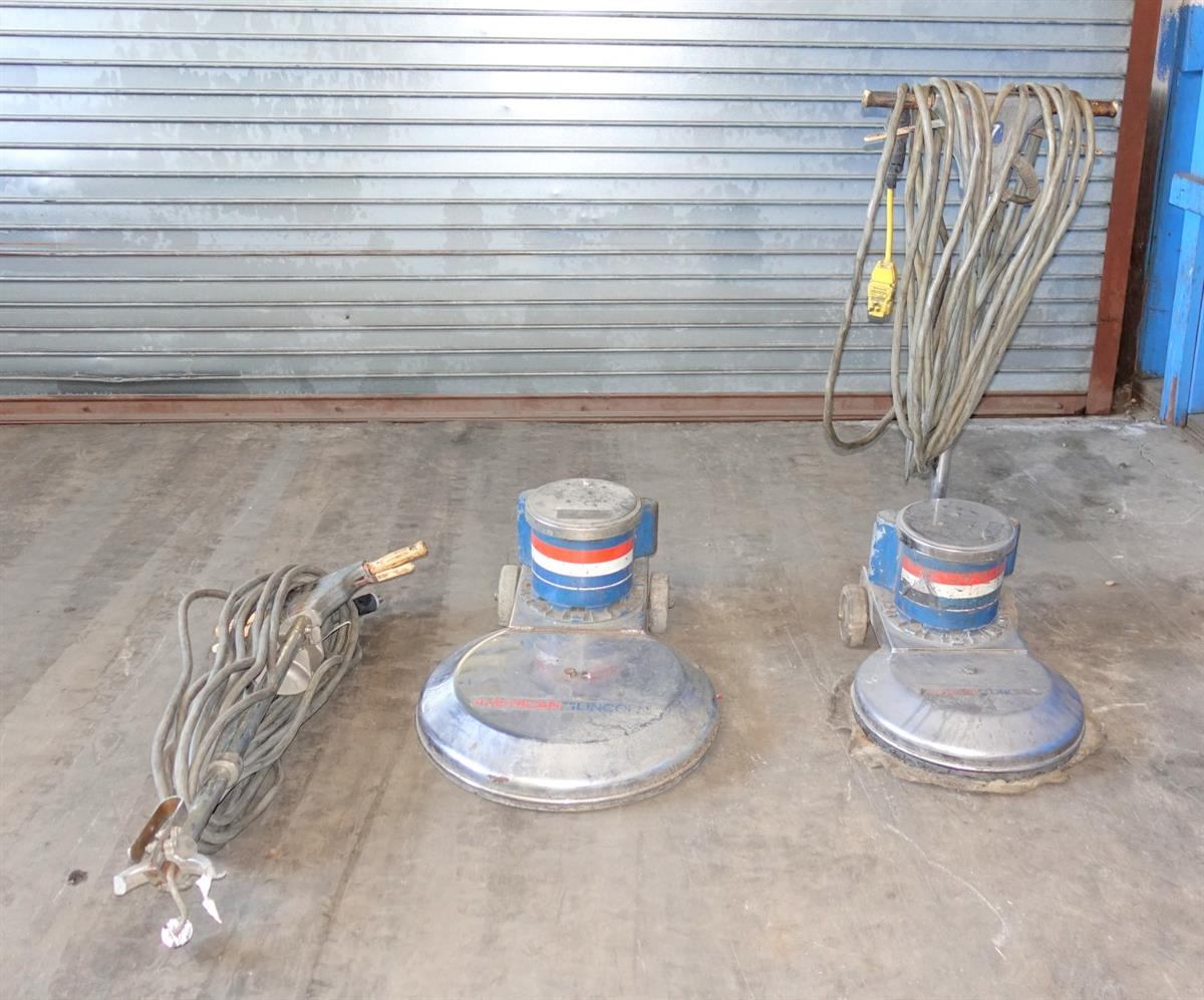 SP-2064 | SP-2064 American Lincoln 317 Series and 320 Series Floor Buffer 2 Floor Buffer Lot Sale USED (9).JPG