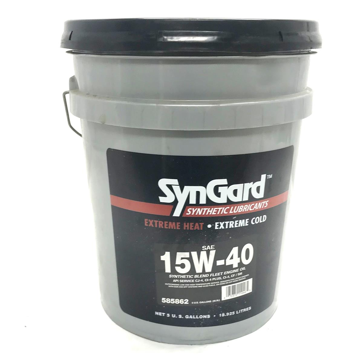 SP-2195 | 15W-40 Synthetic Blend Fleet Engine Oil 15W40 15-40