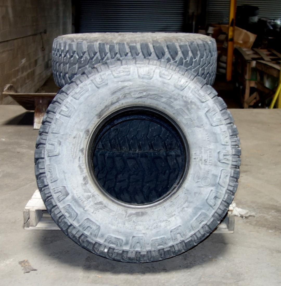TI-154 | TI-154  Goodyear Wranglers MTR 37x12.50R16.5LT Tire (Lot Sale) (Used) (3).JPG