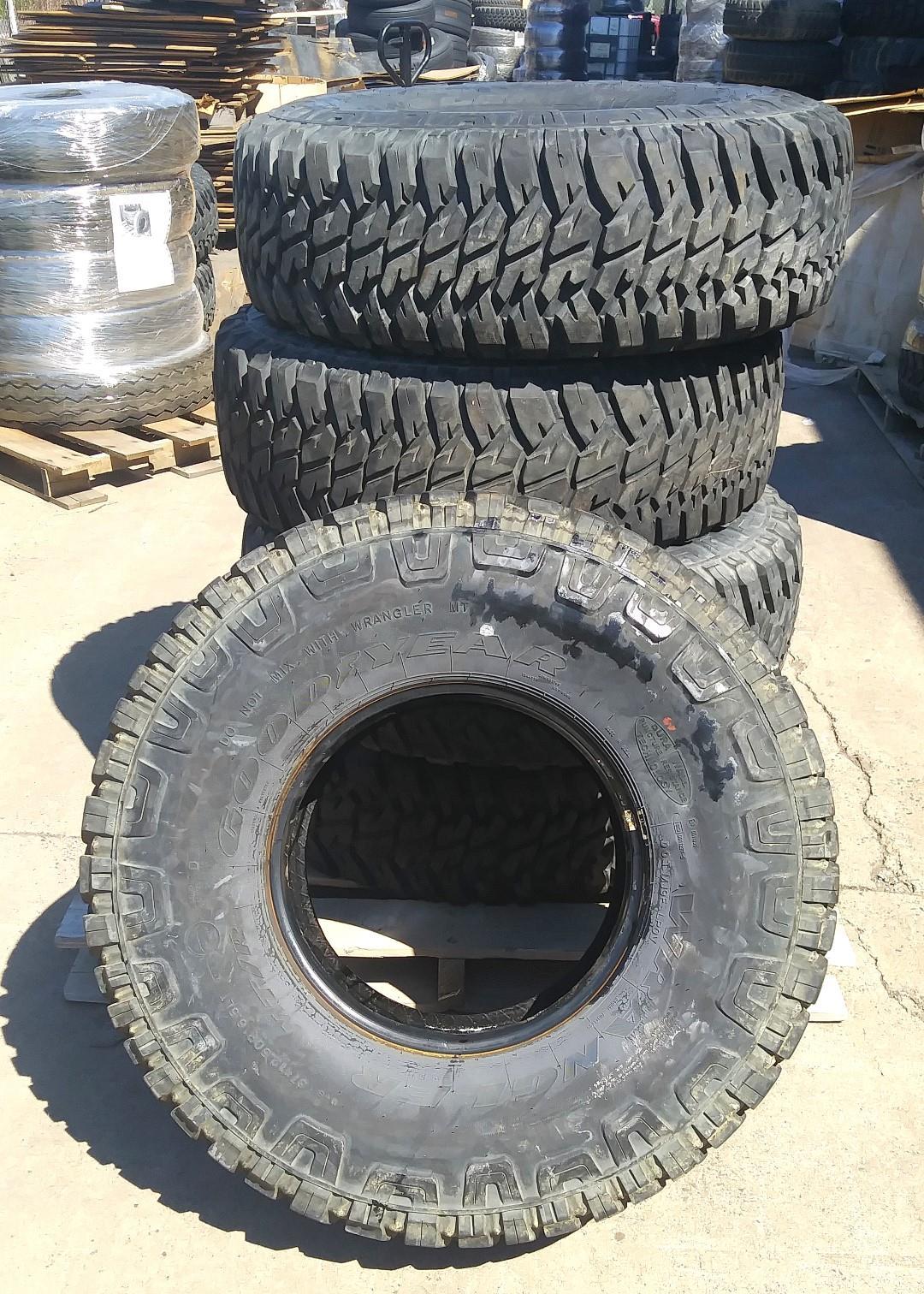 Goodyear Wrangler MT/R 37x12 50R16 5LT Tire (5 Tire Lot Sale)