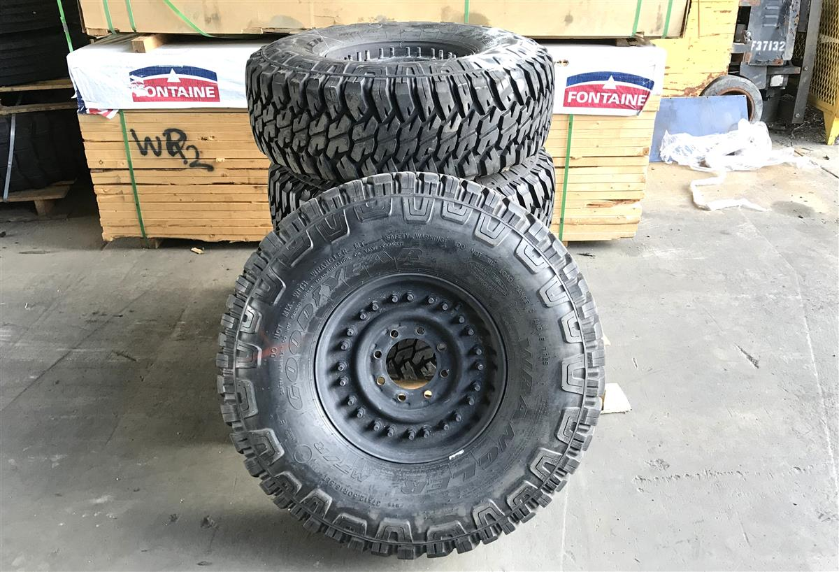 TI-677 | TI-677  Goodyear Wrangler MTR 37x12.5R16.5LT Tire Used (4 Tire Lot Sale) (8).jpg